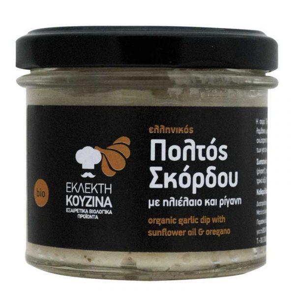 Βιολογικός Ελληνικός Πολτός Σκόρδου 'ΕΚΛΕΚΤΗ ΚΟΥΖΙΝΑ' 115gr