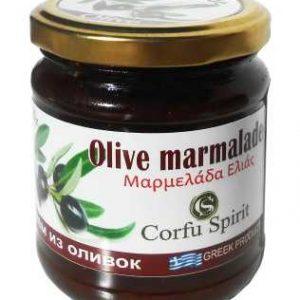 Olive Jam 'CORFU SPIRIT' 250gr