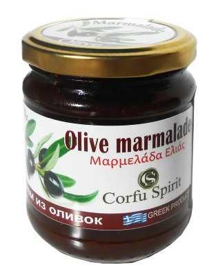 Μαρμελάδα Ελιά 'CORFU SPIRIT' 250gr