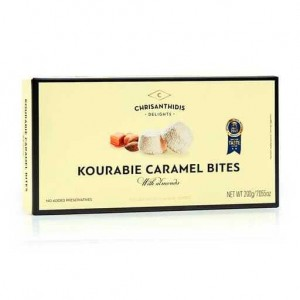 Kourabie Bites Nea Karvali w Almonds 'CHRISANTHIDIS' 200gr