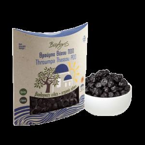 Organic PDO Throumpa Olives S/F 'Bioagros' 250gr