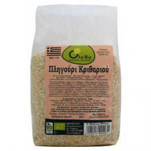 Organic Bulgur Barley Greek 'OLA-BIO' 350gr