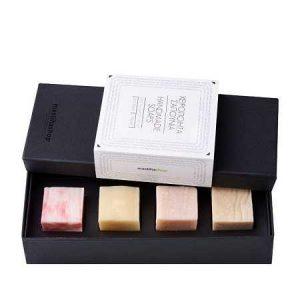 Handmade Soaps Gift box 'MastihaShop' 4X47gr