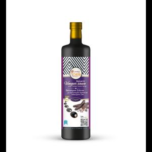 Organic Balsamic Vinegar Sauce w Carob 'Creta Carob' 350ml