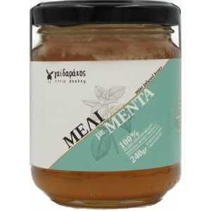 Μέλι με Αιθέριο Έλαιο Μέντας 'Γαϊδαράκος' 240gr