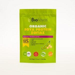 Βιολογική Πρωτεΐνη Σόγιας 'Βιολόγος' 500grOrganic Soya Protein 'Biologos' 500g