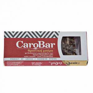 Βιολογική Θρεπτική Μπάρα Χαρουπιού Creta Carob 55gr