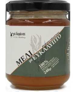 Μέλι με Αιθέριο Έλαιο Ευκάλυπτου 'Γαϊδαράκος' 240gr