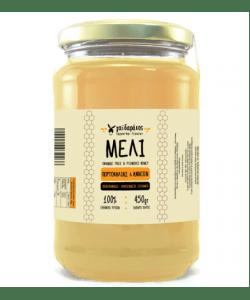 Μέλι Ανθέων Πορτοκαλιάς Δωδεκανήσων 'Γαϊδαράκος' 450gr