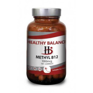 Methyl B12 LOZENGES 'Bio Land' 100 Vegicaps