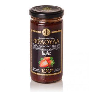 Ελαφρύ Άλειμμα Φράουλα 100% Φρούτο Χ/Ζ 'ΓΕΩΔΗ' 2Χ270gr