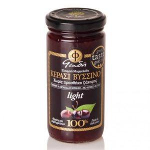 Ελαφρύ Άλειμμα Κεράσι-Βύσσινο 100% Φρούτο Χ/Ζ 'ΓΕΩΔΗ' 2Χ270gr