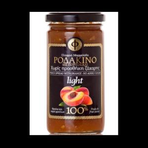 Ελαφρύ Άλειμμα Ροδάκινο-Πορτοκάλι 100% Φρούτο Χ/Ζ 'ΓΕΩΔΗ' 2Χ270gr