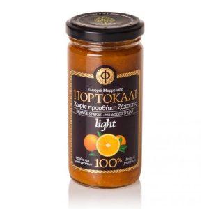 Ελαφρύ Άλειμμα Πορτοκάλι 100% Φρούτο Χ/Ζ 'ΓΕΩΔΗ' 2Χ270gr