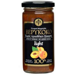 Ελαφρύ Άλειμμα Βερίκοκο 100% Φρούτο Χ/Ζ 'ΓΕΩΔΗ' 2Χ270gr