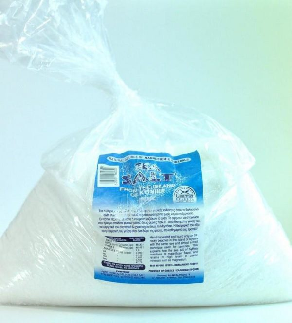 Αλάτι Βράχων Κυθήρων 'KALIMERA PRODUCTS' 6ΚgrKytherian Rock Sea Salt 'KALIMERA PRODUCTS' 6Kgr