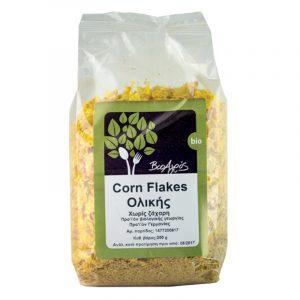 Βιολογικά Corn Flakes Ολικής Xωρίς Ζάχαρη Βιοαγρός 250gr