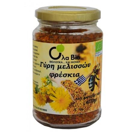 Βιολογική Γύρη Μελισσών Φρέσκια OLA-ΒΙΟ 220gr