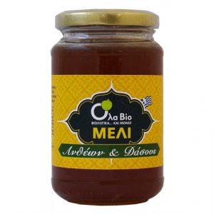 Βιολογικό Μέλι Ανθέων & Δάσους OLA-ΒΙΟ 450gr