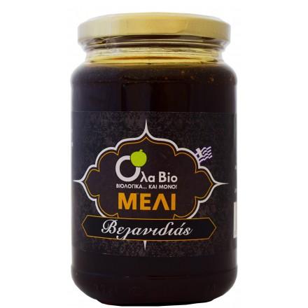 Βιολογικό Μέλι Βελανιδιάς OLA-ΒΙΟ 450gr