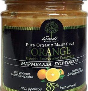 Βιολογική Μαρμελάδα Πορτοκάλι 85% ΓΕΩΔΗ 225ml