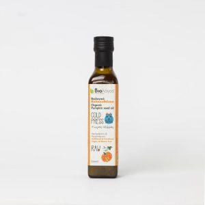 Βιολογικό Κολοκυθέλαιο 'Βιολόγος' 250mlOrganic Pumpkin Seed Oil 'Biologos' 250ml