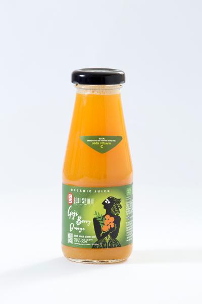 Βιολογικός Χυμός Goji Berry Πορτοκάλι GOJI SPIRIT 200ml