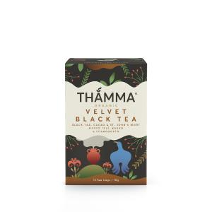 Βιολογικό Βοτανικό Τσάι Velvet Black Tea THAMMA 18g