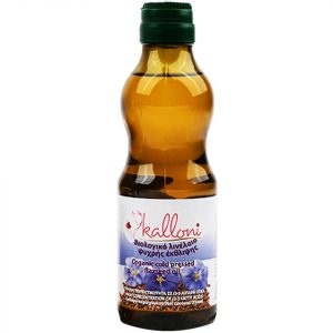 Organic Linseed Oil 250mllΒιολογικό Λινέλαιο Ψυχρής Έκθλιψης 250ml