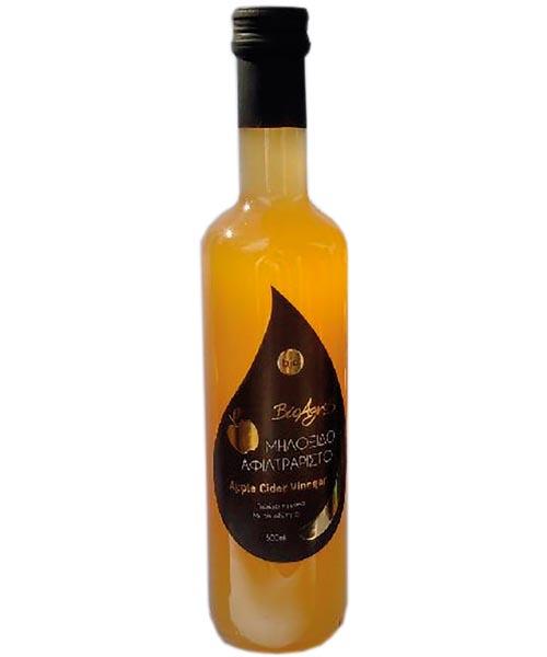 organic Apple Cider VinegarΒιολογικό Μηλόξυδο 'Βιοαγρός' 500ml