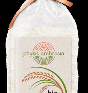 Organic White Short Rice 'PHYSIS AMBROSIA' 500gr Βιολογικό Ρύζι Κοντό Γλασέ 'PHYSIS AMBROSIA' 500gr