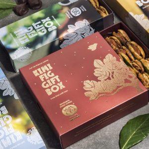 Ξερά Σύκα Κύμης Gift Box KUMILIO 600gr