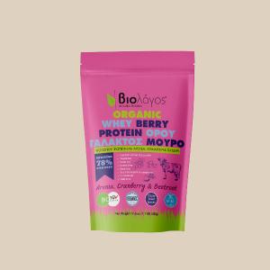 Βιολογική Πρωτεΐνη WHEY Ορού Γάλακτος BERRY 'Βιολόγος' 500gr